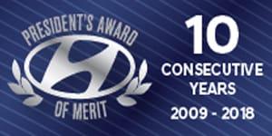 President's Award of Merit